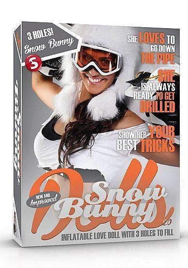 Надувная секс-кукла Snow Bunny