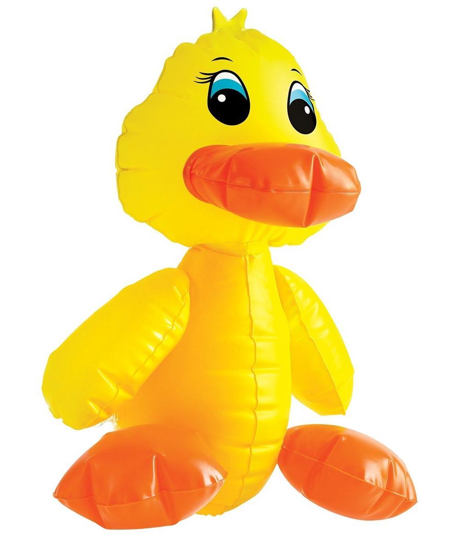 Надувная секс-утка F#ck-A-Duck - 35,6 см.