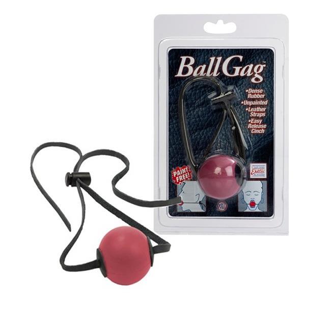 Кляп с резиновым шаром «BALL GAG»