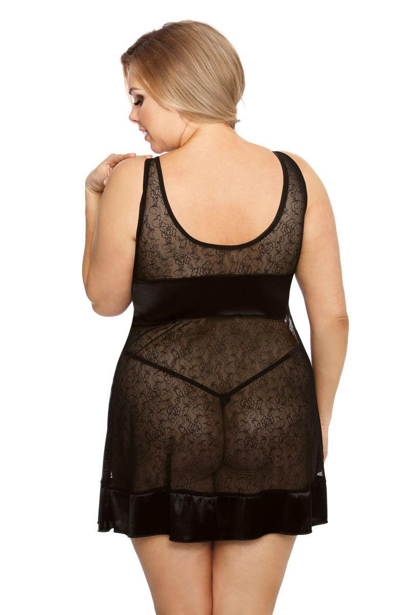 Элегантная сорочка Elisya Plus Size с плотным лифом