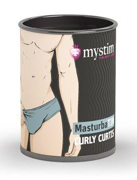 Компактный мастурбатор MasturbaTIN - Curly Curtis