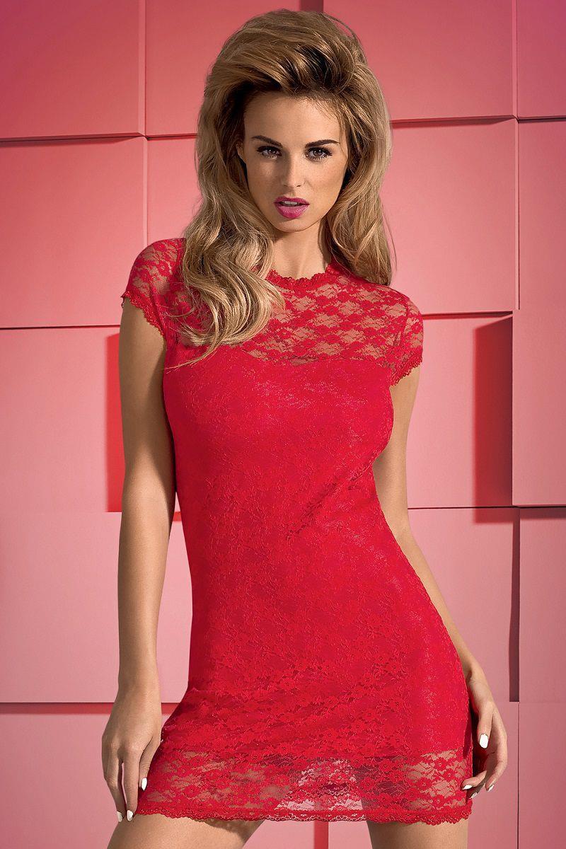 Эффектное кружевное платье Dressita