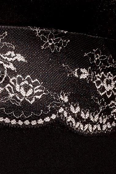 Облегающая сорочка Mayah с двухцветным кружевом под лифом