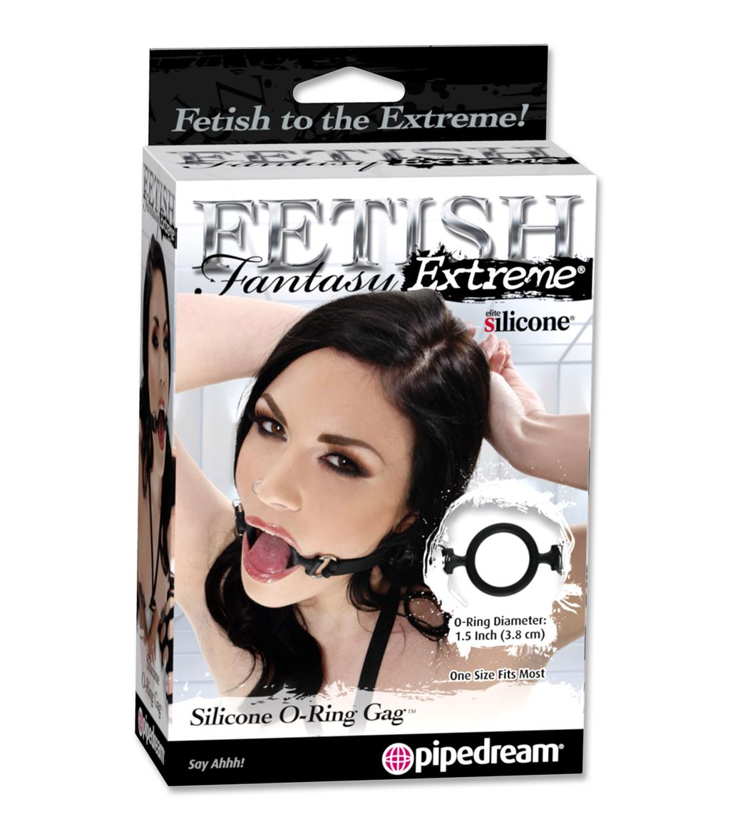 О-образный силиконовый расширитель рта Fetish Fantasy Silicone O-Ring Gag