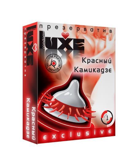 Презерватив «LUXE Exclusive - Красный Камикадзе» (1 шт)