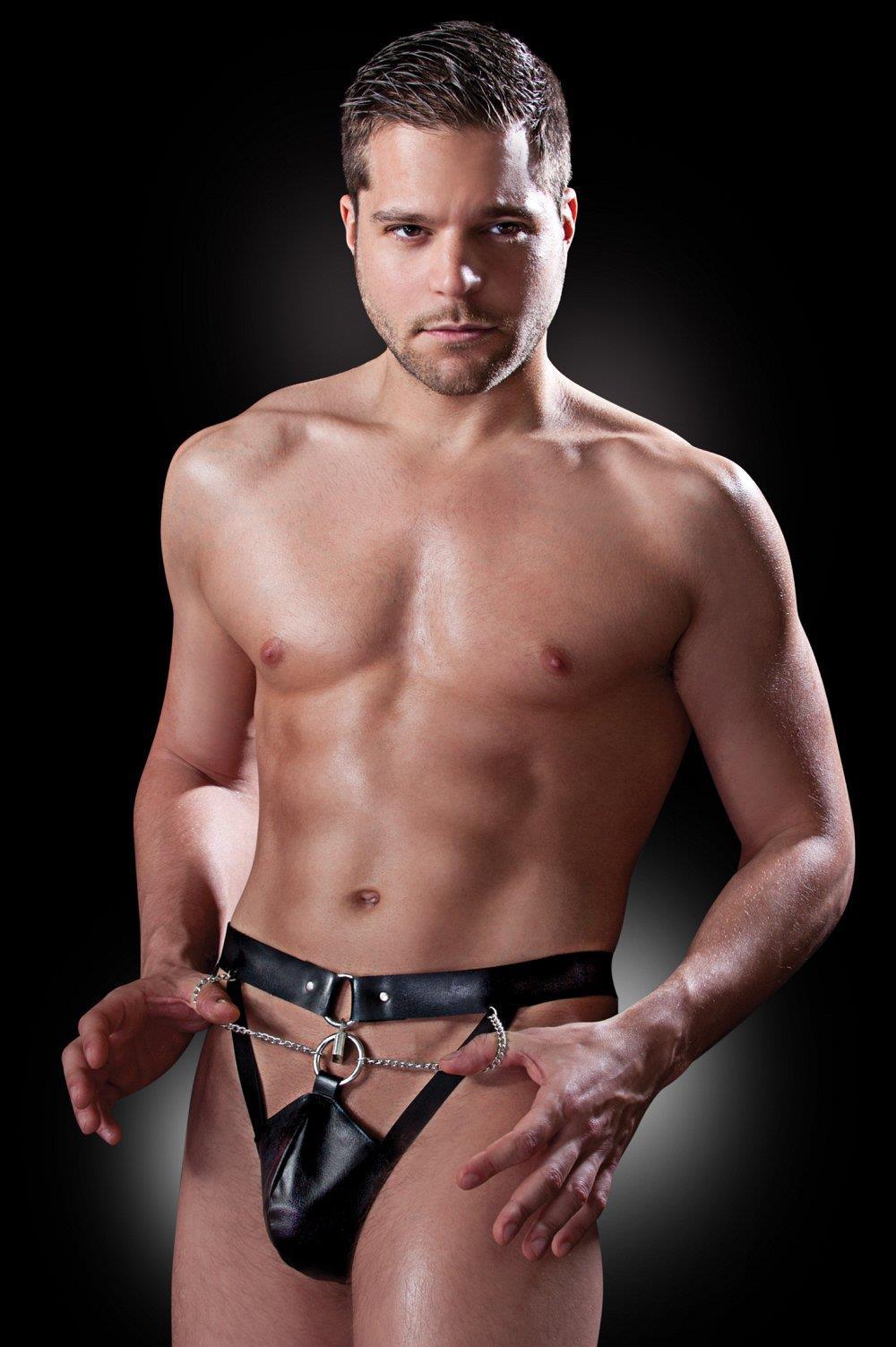 Мужской пояс верности Chastity Belt