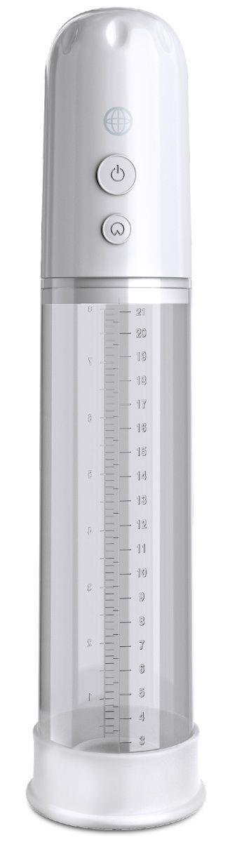 Белая автоматическая вакуумная помпа Auto-Vac Power Pump