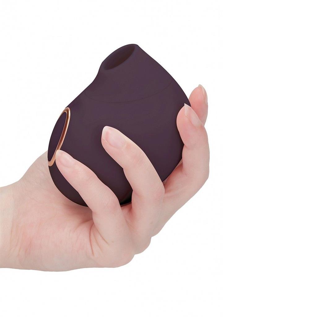 Фиолетовый клиторальный вакуум-волновой массажер Irresistible Seductive