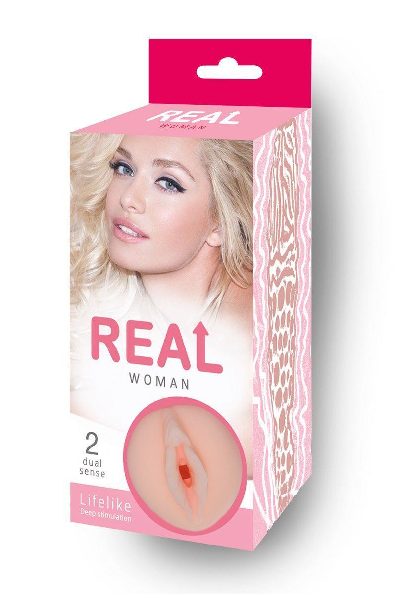 Мастурбатор-реалистик Real Woman с входом в виде вагины