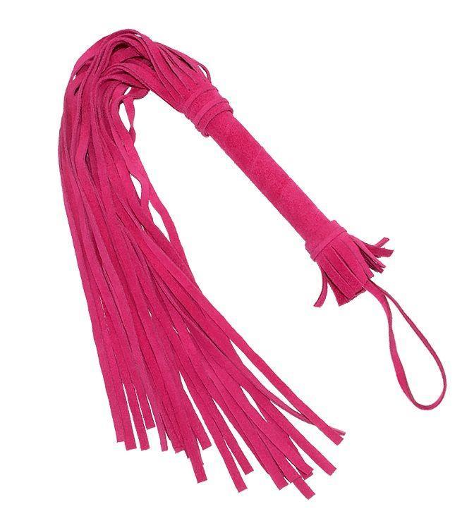 Розовая плеть Королевский велюр (65 см)