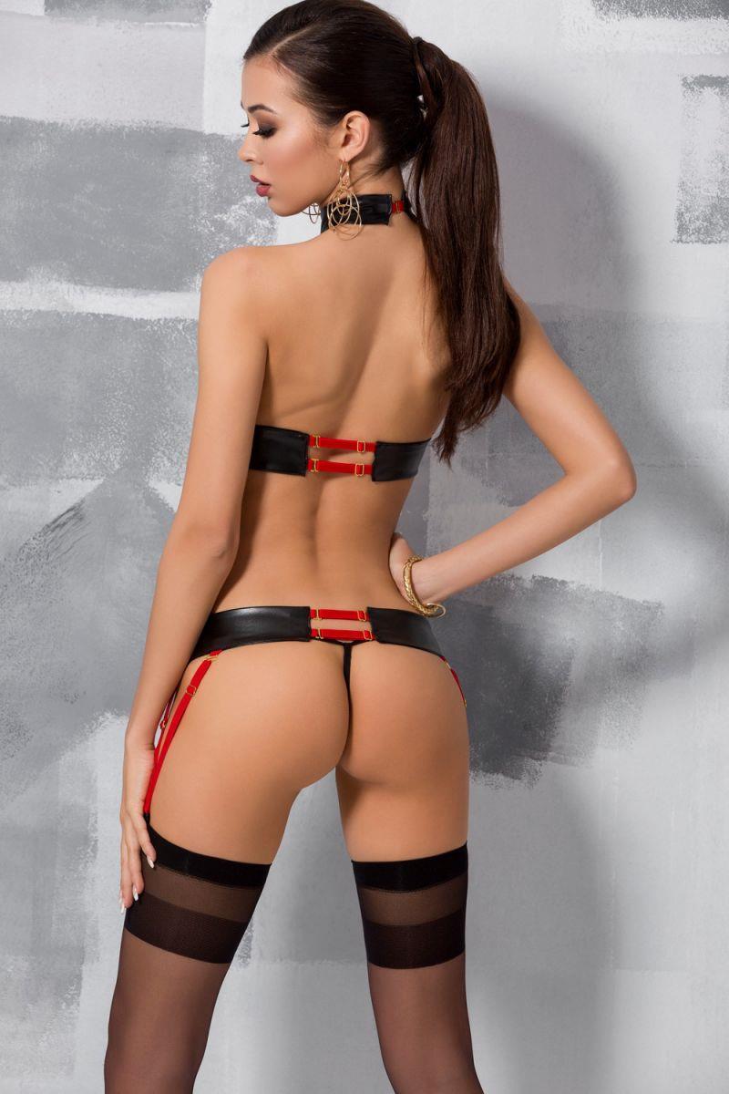 Ультра сексуальный комплект белья Aziza из стреп-лент