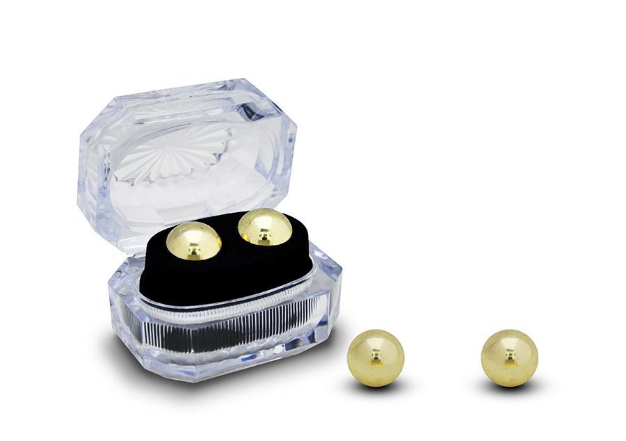 Золотистые вагинальные шарики BEN WA