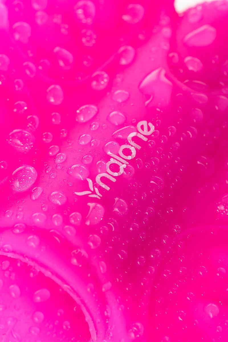 Розовый клиторальный стимулятор-бабочка Nalone - Madam
