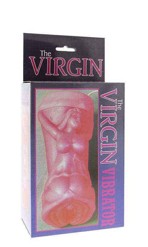 Розовый мастурбатор-вагина THE VIRGIN VIBRATOR