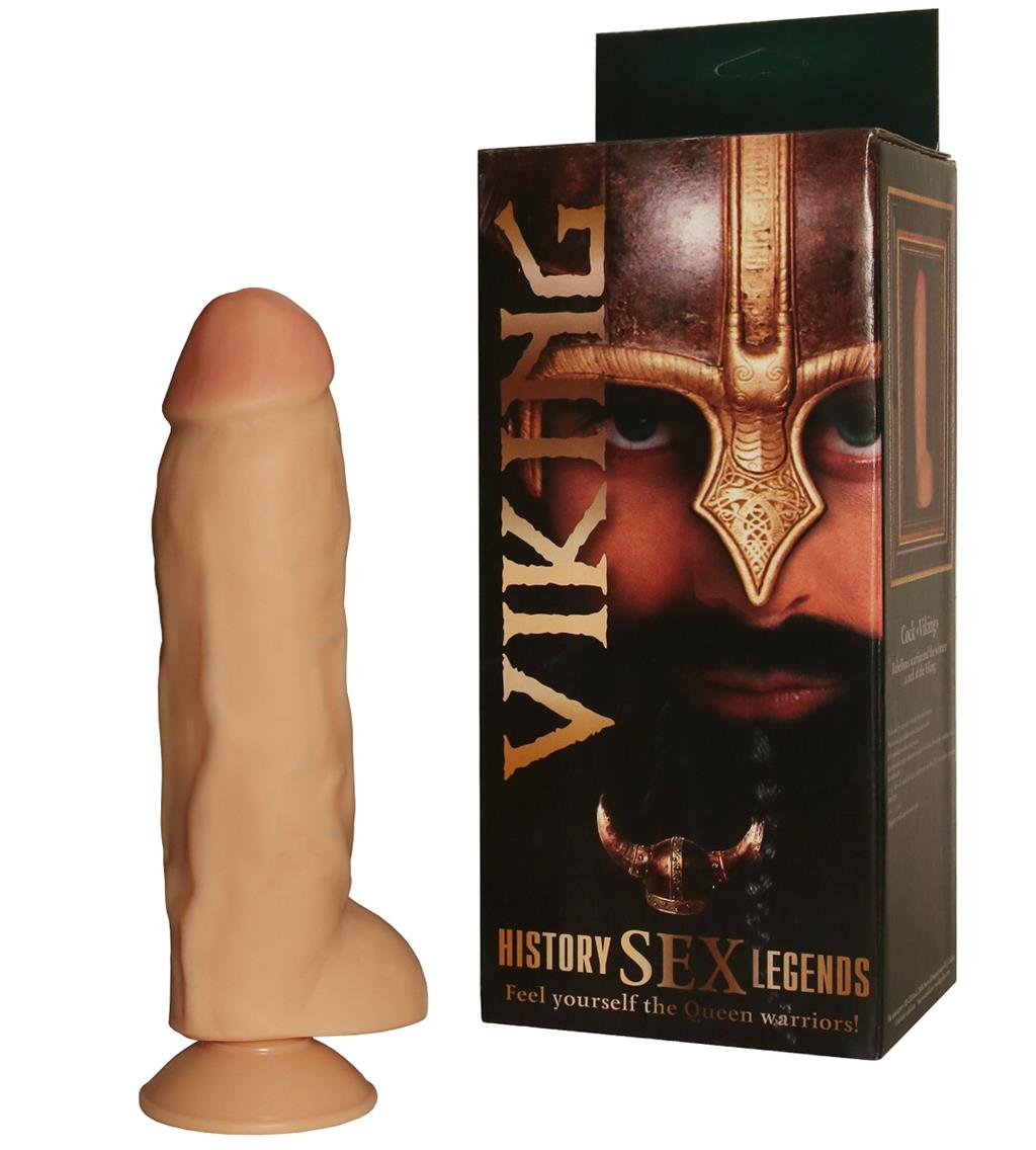 Фалломитатор на присоске History Sex Legend - Viking (24 см)