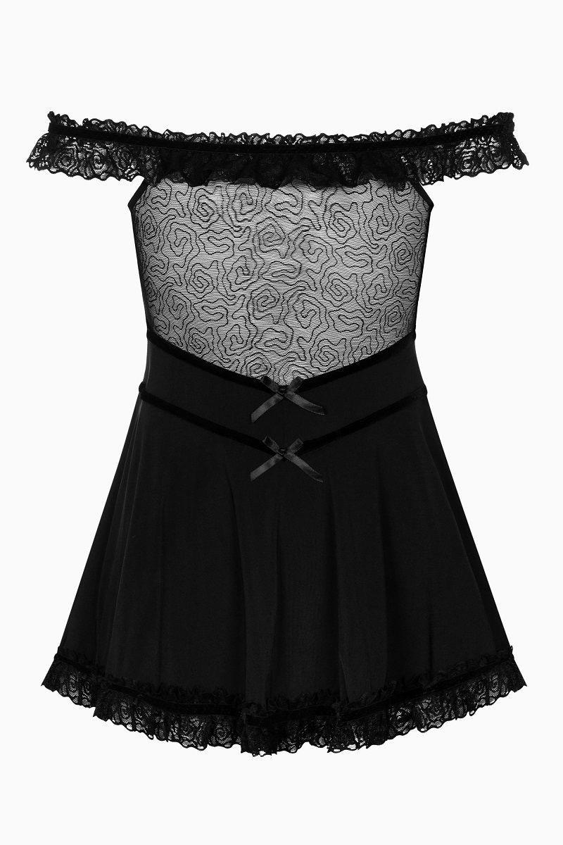 Сорочка Floresita с открытыми плечами и пышным подолом