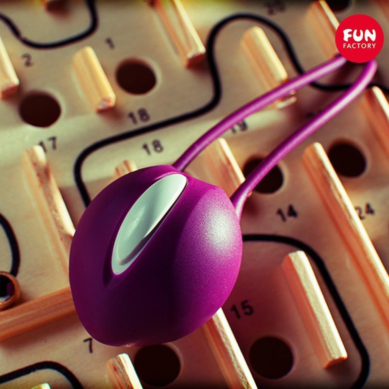 Фиолетовый вагинальный шарик Smartballs Uno