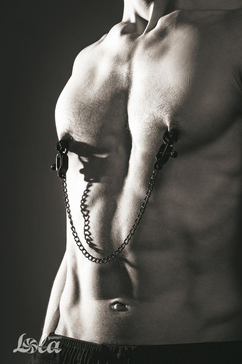 Зажимы на соски Desire с цепочкой