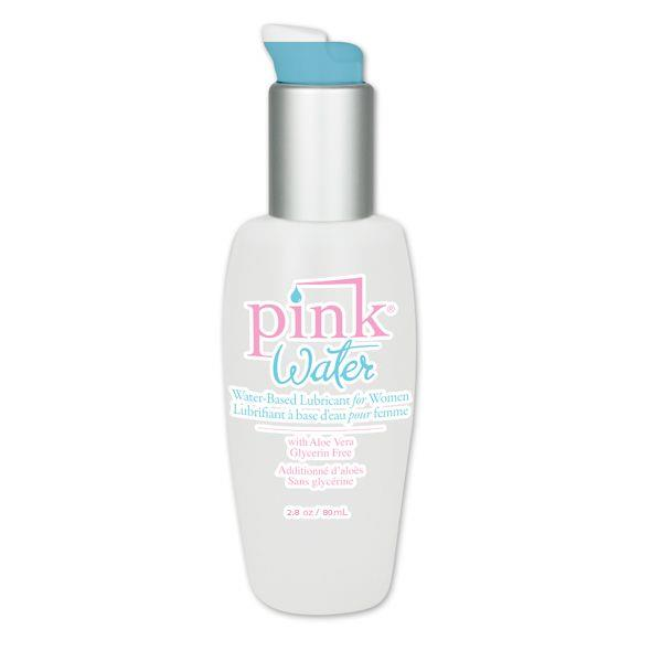Водная смазка Pink Water Intimate Lubricant - 80 мл.