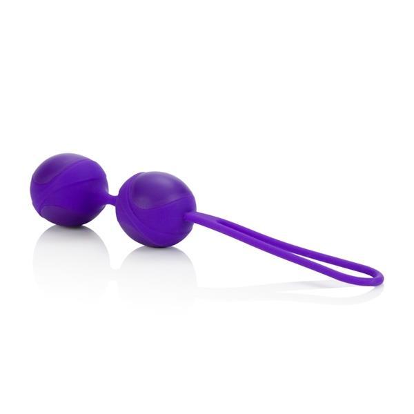 Фиолетовые вагинальные шарики BODY SOUL ENTICE