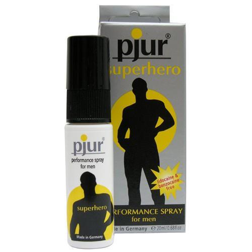 Пролонгирующий мужской спрей Pjur - SUPERHERO spray (20 мл)