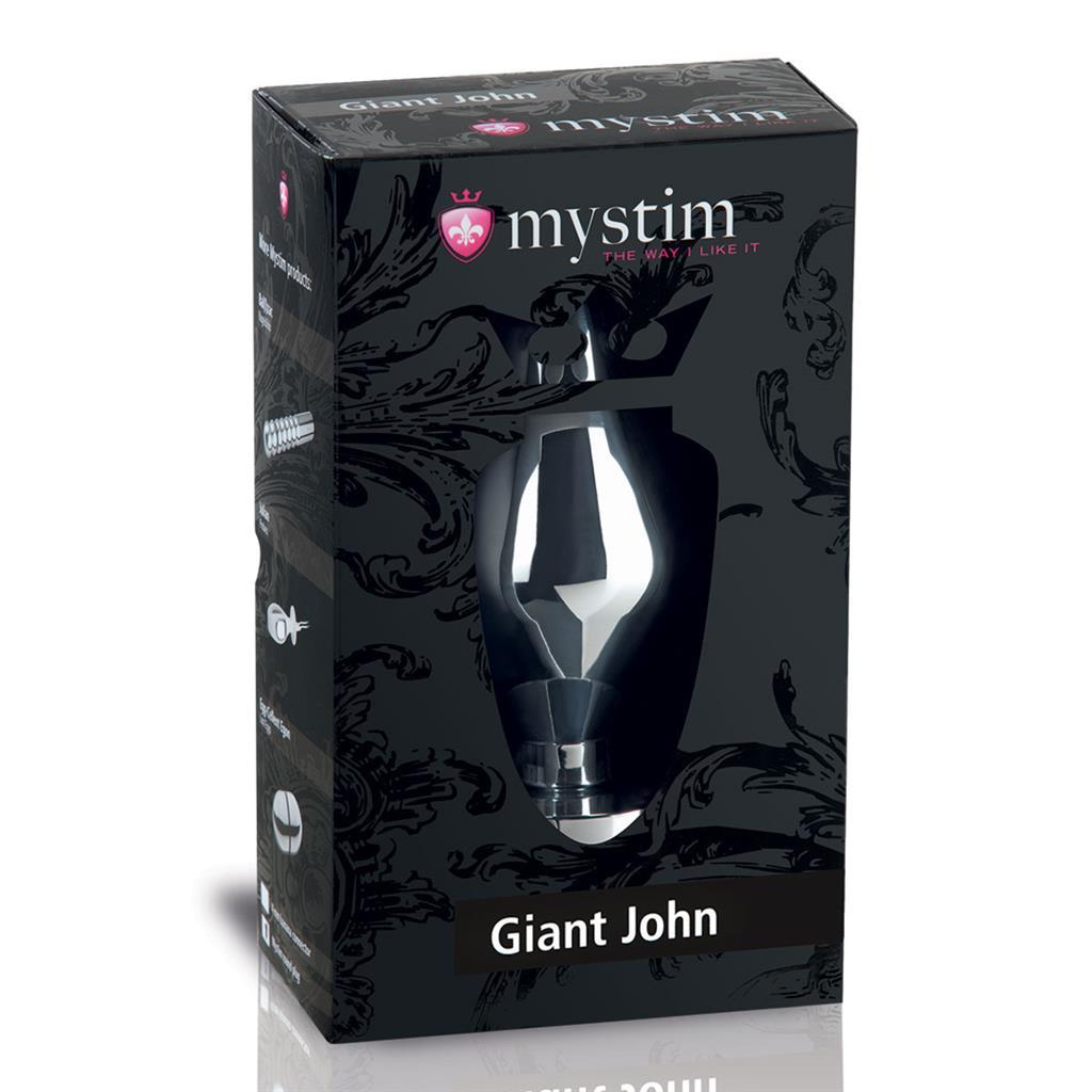 Анальный электростимулятор Giant John XXL (16 см)